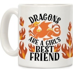 Dragons Are A Girl's Best Friend Mug from LookHUMAN
