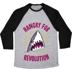 Hangry For Revolution Baseball Tee from LookHUMAN