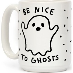 Be Nice To Ghosts Mug from LookHUMAN