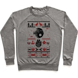 Scifi Christmas Sweater Pullover from LookHUMAN