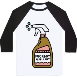 F***boy Repellent Baseball Tee from LookHUMAN