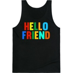 Hello Friend Tank Top from LookHUMAN found on Bargain Bro Philippines from LookHUMAN for $25.99