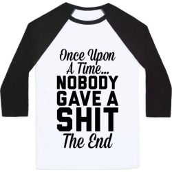Once Upon A Time Baseball Tee from LookHUMAN