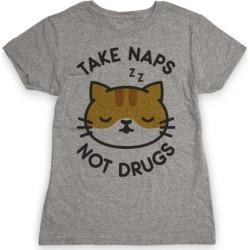 Take Naps Not Drugs T-Shirt from LookHUMAN