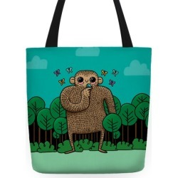 Baby Bigfoot Tote Bag from LookHUMAN found on Bargain Bro Philippines from LookHUMAN for $27.99