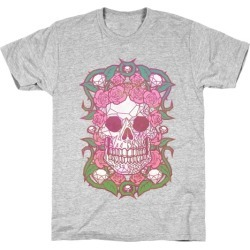 Diamonds and Roses T-Shirt from LookHUMAN