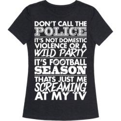 Football Season T-Shirt from LookHUMAN