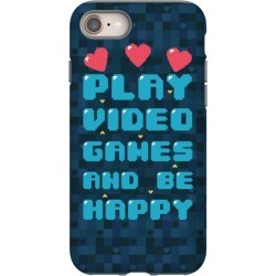 Play Video Games And Be Happy Phone Case from LookHUMAN
