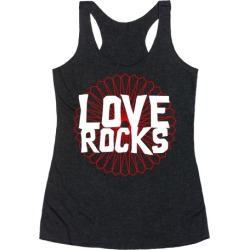 Love Rocks Racerback Tank from LookHUMAN found on MODAPINS from LookHUMAN for USD $25.99