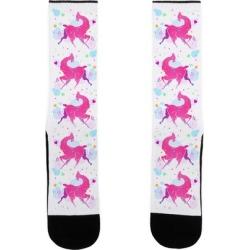 Cute Llama Socks from LookHUMAN