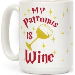 My Patronus Is Wine Mug from LookHUMAN