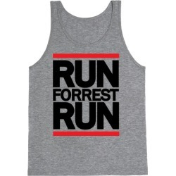 Run Forrest Run Tank Top from LookHUMAN