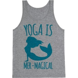 Yoga Is Mer-Magical Tank Top from LookHUMAN