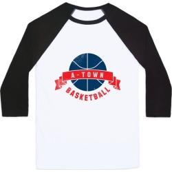 ATL Basketball Baseball Tee from LookHUMAN
