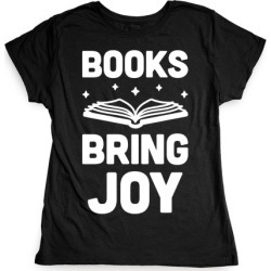 Books Bring Joy T-Shirt from LookHUMAN