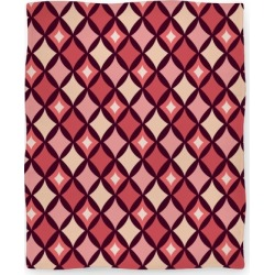 Diamond Pattern Blanket (Red) Blanket from LookHUMAN found on Bargain Bro Philippines from LookHUMAN for $49.99