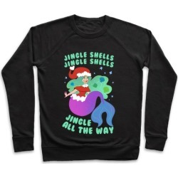 Jingle Shells, Jingle Shells Pullover from LookHUMAN
