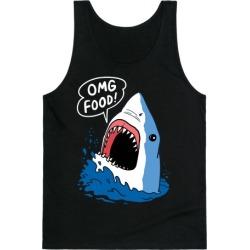 Omg Food Shark Tank Top from LookHUMAN