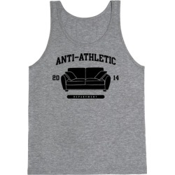 Anti Athletic Club Tank Top from LookHUMAN