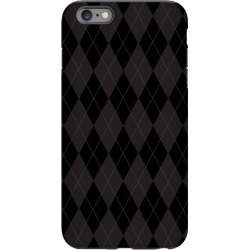 Black Argyle Phone Case from LookHUMAN found on Bargain Bro India from LookHUMAN for $27.99