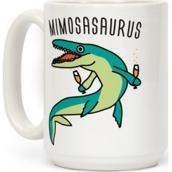Mimosasaurus Mug from LookHUMAN