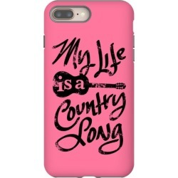 My Life is a Country Song Phone Case from LookHUMAN found on Bargain Bro from LookHUMAN for USD $26.60