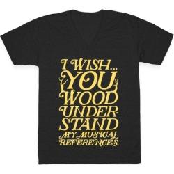 I Wish V-Neck T-Shirt from LookHUMAN