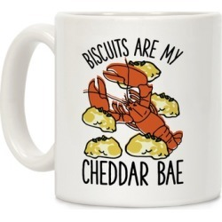 Biscuits Are My Cheddar Bae Mug from LookHUMAN