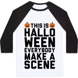 This Is Halloween Baseball Tee from LookHUMAN