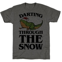 Darting Through The Snow Parody T-Shirt from LookHUMAN found on Bargain Bro Philippines from LookHUMAN for $25.99