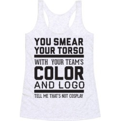 Sports Cosplay (dark) Racerback Tank from LookHUMAN found on Bargain Bro from LookHUMAN for USD $19.75