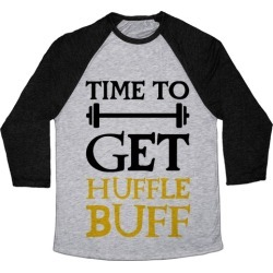 Time To Get Huffle Buff Baseball Tee from LookHUMAN