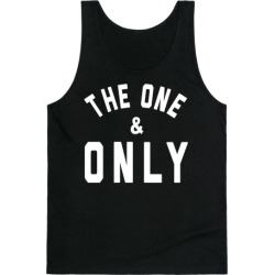 The One & Only Tank Top from LookHUMAN