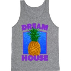 Dream House Tank Top from LookHUMAN