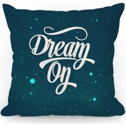 Dream On Throw Pillow from LookHUMAN found on Bargain Bro Philippines from LookHUMAN for $37.99