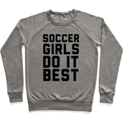 Soccer Girls Pullover from LookHUMAN