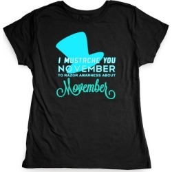 Punache Mustache T-Shirt from LookHUMAN