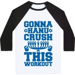 Gonna Hanu-Crush This Workout Baseball Tee from LookHUMAN