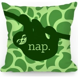 Sloth Nap Throw Pillow from LookHUMAN found on Bargain Bro Philippines from LookHUMAN for $37.99