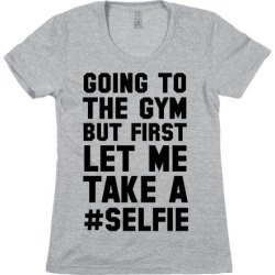 Going to the Gym T-Shirt from LookHUMAN