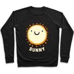 Sun & Grumpy Cloud (Part 2) Pullover from LookHUMAN