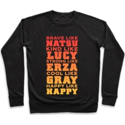 Fairy Tail Personality Pullover from LookHUMAN
