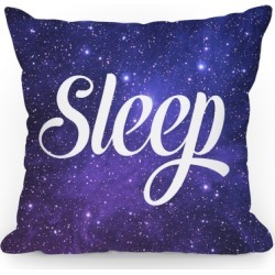Sleep (Cosmic Pillow) Throw Pillow from LookHUMAN found on Bargain Bro Philippines from LookHUMAN for $26.99