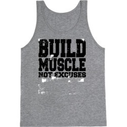 Build Muscle Tank Top from LookHUMAN