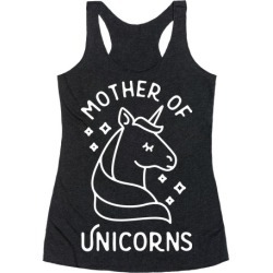 Mother Of Unicorns Racerback Tank from LookHUMAN found on Bargain Bro Philippines from LookHUMAN for $25.99