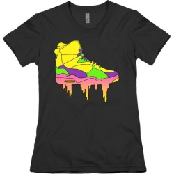 Day-Glo Dunks T-Shirt from LookHUMAN