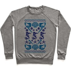 Ugly Mermaid Sweater Pullover from LookHUMAN