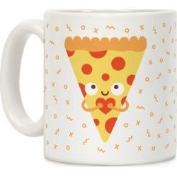 Pizza My Heart Mug from LookHUMAN