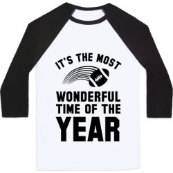 It's the Most Wonderful Time of Year Baseball Tee from LookHUMAN