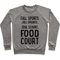 Fall Sports...Food Court Pullover from LookHUMAN
